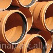 Труба ПВХ для наружной канализации SN 8 ф400 фото