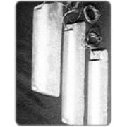 Протекторы защиты от коррозии МП-1, АП-1, ЦП-1(магниевый, алюминиевый или цинковый сплав). фото