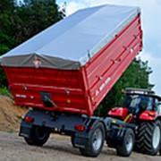 Прицеп тракторный самосвальный Metal-Fach Т-711/2 с надставными бортами фото