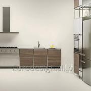 Современная кухня Meccanica con telaio in acciaio фото