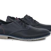 Кожаные мужские туфли Maxus размеры 40-45 мод. 644 фото