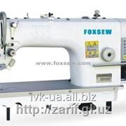 FOXSEW_FX9980-D4 Швейная машина 1-игольная челночного стежка с прямым приводом, обрезкой нити и электронным управлением фото