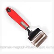 Нож-ролик для лапши Красный мак 29см, арт.HYW1223 фото