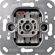 Мех-м кнопки 1-кл. 10А, 250В перекидной контакт Gira фото