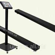 Балочные весы (рейковые, стержневые) электронные весы ВН-2000-Б-а фото