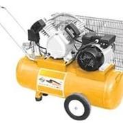 Компрессор пневматический, 2,2 кВт, 370 л/мин, 100 л 58091 фото