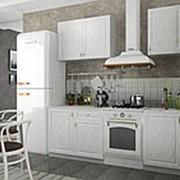 Модульная кухня Грандо белый с фасадами МДФ фото