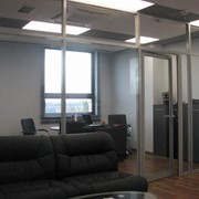 Oфисные перегородки из профильных офисных систем, системы офисных перегородок, офисные перегородки Донецк фото