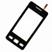 Тачскрин (TouchScreen) для Samsung S5250 black orig фото