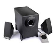 Колонка Edifier M1360, 2.1, RMS 4.5W2W*2, чёрная фото