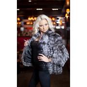 Куртка из чернобурой лисы SAGA ROYAL фото