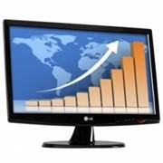 """LG 21,5"""" LCD W2243S PF 1920x1080, 300cd/m2, (30000:1), 5ms, 176°/170°, Black фото"""