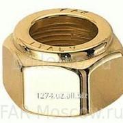 Накидная гайка для вентилей LadyFAR с наружной резьбой 16 мм, золото, артикул FL 0330 16 фото