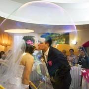 Свадебное Шоу Мыльных Пузырей фото
