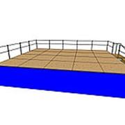 Подиум сборно-разборный 6х5 метров фото