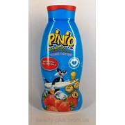 Pinio Клубника, 2в1 шампунь-средство для купания, 500 мл фото