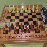 Шахматы стационарные фото