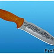 Нож Тайга М художественное оформление фото