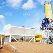 Бетонный завод Скип-45 фото