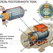 Электродвигатель постоянного тока фото