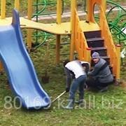 Монтаж детских площадок фото