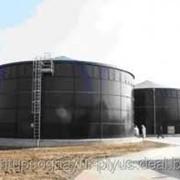Емкость для хранения жидкого навоза из волнистой нержавеющей стали фото
