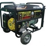 Бензиновый электрогенератор HUTER DY8000LX (6.5 кВт) с колесами фото
