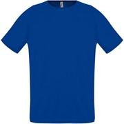 Футболка унисекс SPORTY 140 ярко-синяя, размер XL фото