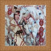 Наборы для вышивания бисером Индианка фото