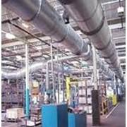 Вентиляция промышленная, внутренняя фото