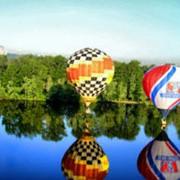 Полёт на воздушном шаре фото