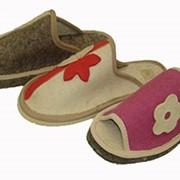 Тапочки суконные, модель № 17 фото