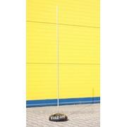 Молниеприемник с бетонным основанием (1м, 2 м, 3 м, 4 м) фото