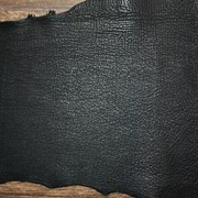 Кожа акулы 17 кв.дм Черный фото