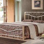 Кровать Ленора 1600*2000 М (крем) фото