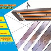 Инфракрасные обогреватели. Монтаж на потолок и стены. фото