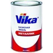 Базисная двухслойная автомобильная эмаль Vika МЕТАЛЛИК номерная 1 литр фото