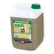 Трудновымываемый антисептик для древесины Зотекс канистра 10 кг фото