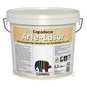 Краска декоративная Capadecor Arte-Lasur 5 л фото