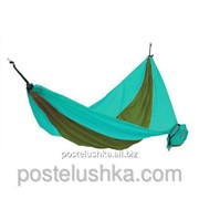 Гамак KingCamp Parachute Hammock Бирюзово-темно-зеленый фото