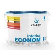 Краска Колорит Эконом (Interior Econom) совершенно матовая водно-дисперсионная краска (20 л)