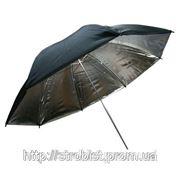 Phottix серебряный студийный зонт, 101см фото