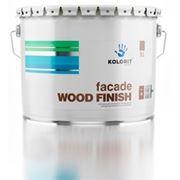 Краска Kolorit Fasade Wood Finish 0,9л фото