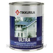 Краска для деревянных фасадов Тиккурила Ультра - Ultra, база С (2,7 л)