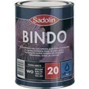 Краска для стен и потолка BINDO 20, 5 л (белый w0) фото