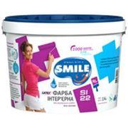 1,4 КГ Краска интерьерная SMILE SI22 LATEX Краска интерьерная «SMILE®» SI22 LATEX фото