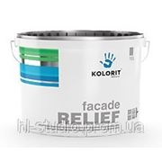 Краска Фасад Рельеф (Facade Relief) структурная водно-дисперсионная на акрилатной основе (5 л) фото