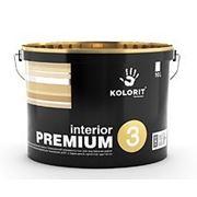 Колорит Премиум 3 (Interior Premium), 10л фото