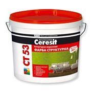 Ceresit CT 53 Интерьерная структурная акриловая краска (10л) фото