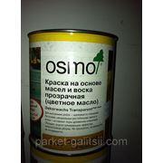 Осмо Масло с твердым воском 3075 черное 2,5л фото